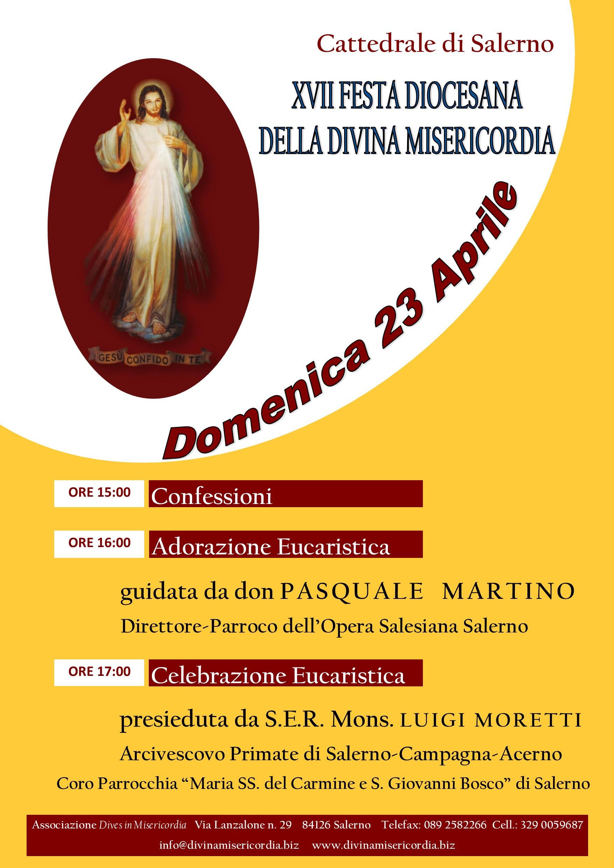 XVII Festa della Divina Misericordia